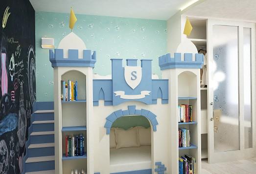 Дизайн детской комнаты в Москве
