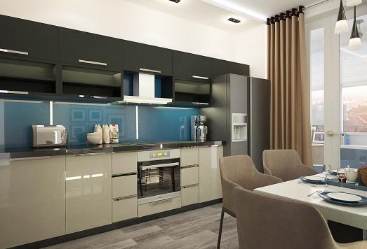 Дизайн проект кухни в Москве