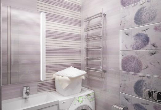 Дизайн ванной комнаты в Москве