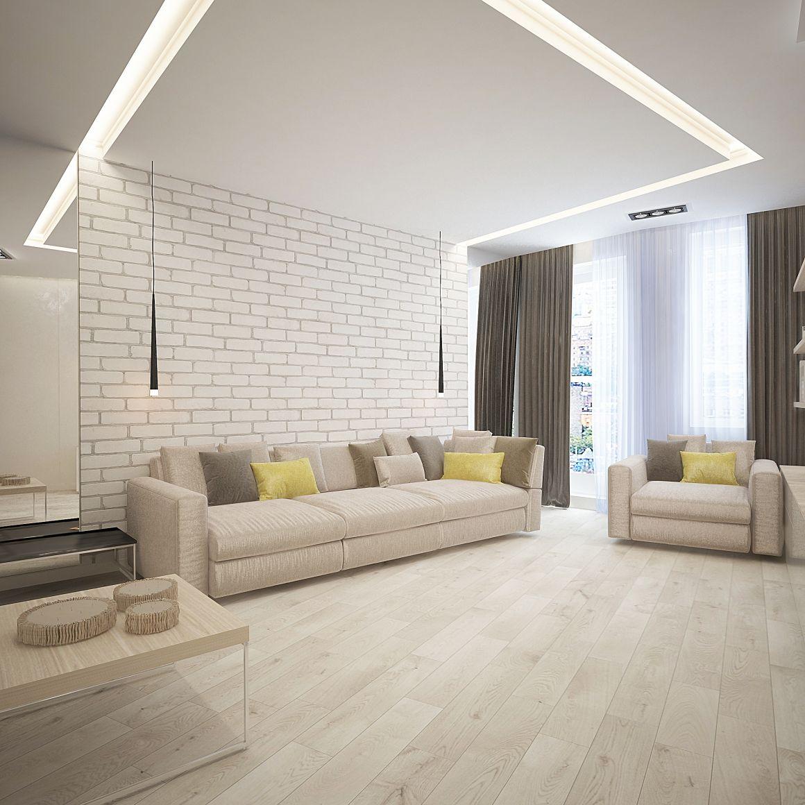 Дизайн проект квартиры для молодой семьи