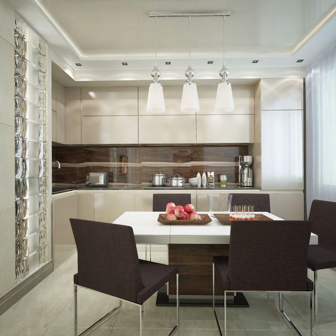 Дизайн проект 2-х комнатной квартиры для четырех человек