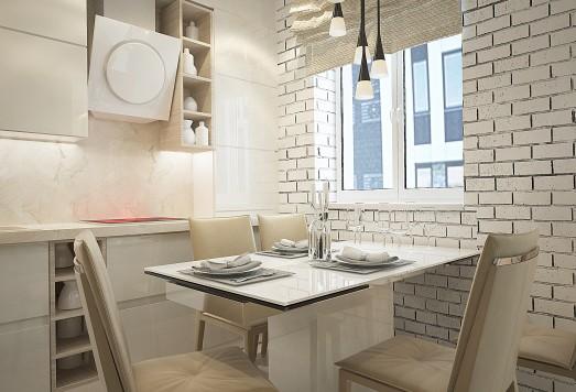 Дизайн проект кухни москва