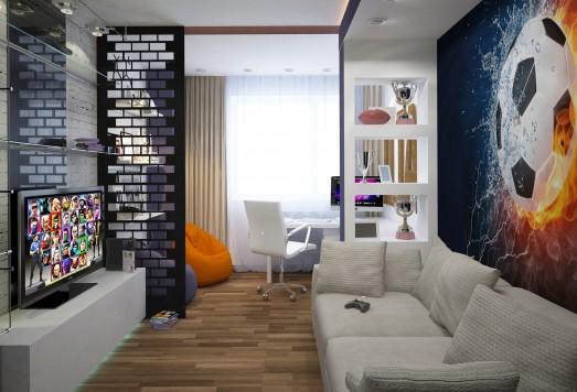 Дизайн комнаты для мальчика в Москве