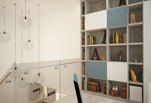 Двухуровневая квартира дизайн
