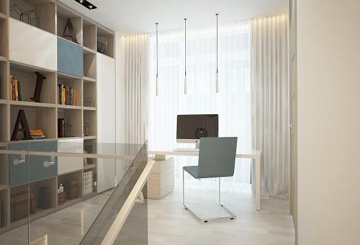 Дизайн проект двухуровневой квартиры