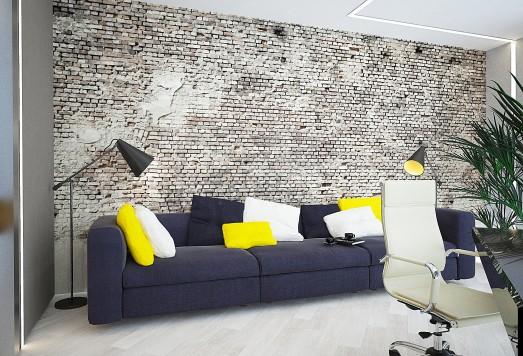 Дизайн проект квартиры в современном интерьере ЖК Москва-Сити