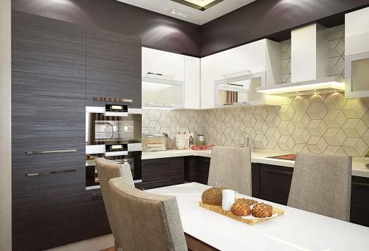 Дизайн проект квартиры ЖК Одинцово