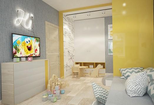 Дизайн проект квартиры в Реутове