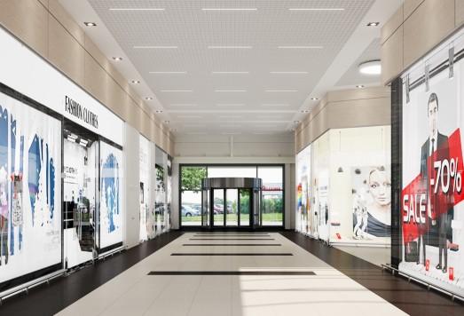 Дизайн проект торгового комплекса