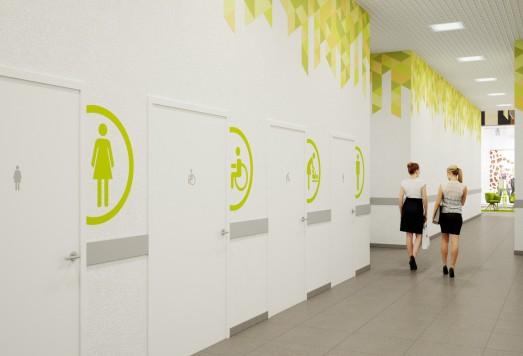 Дизайн проекты общественных помещений москва