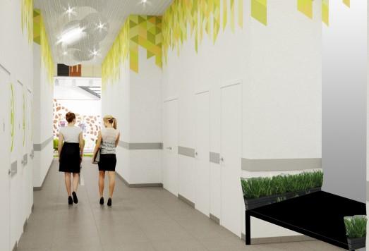 Дизайны общественных помещений