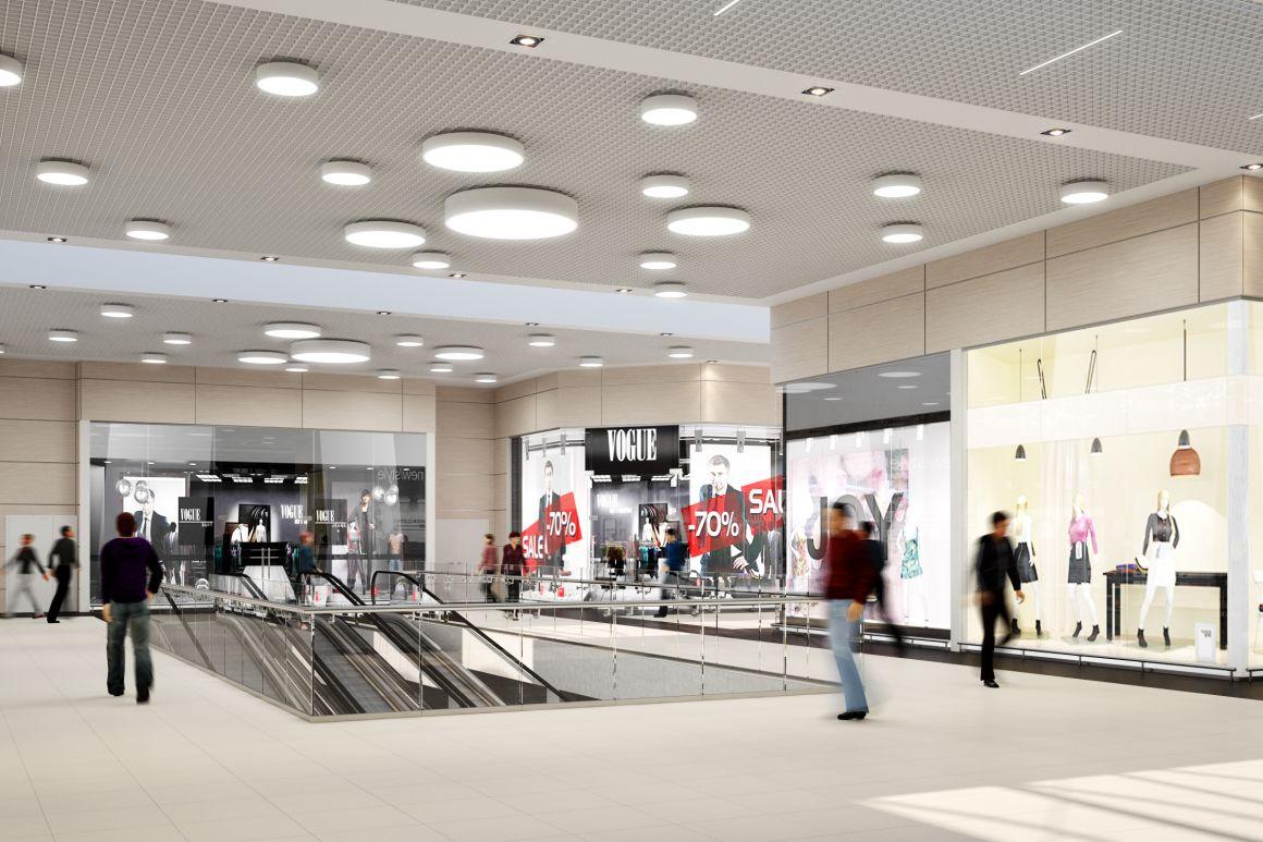 Дизайн проект торгового комплекса АШАН