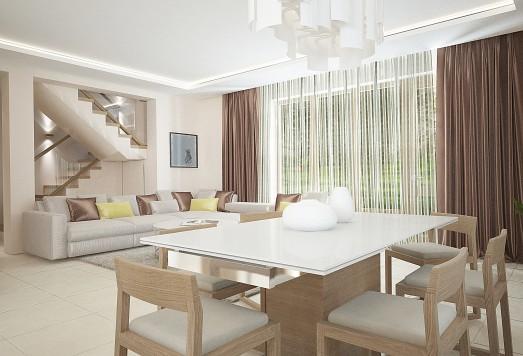 Дизайн проект загородного дома по Киевскому шоссе