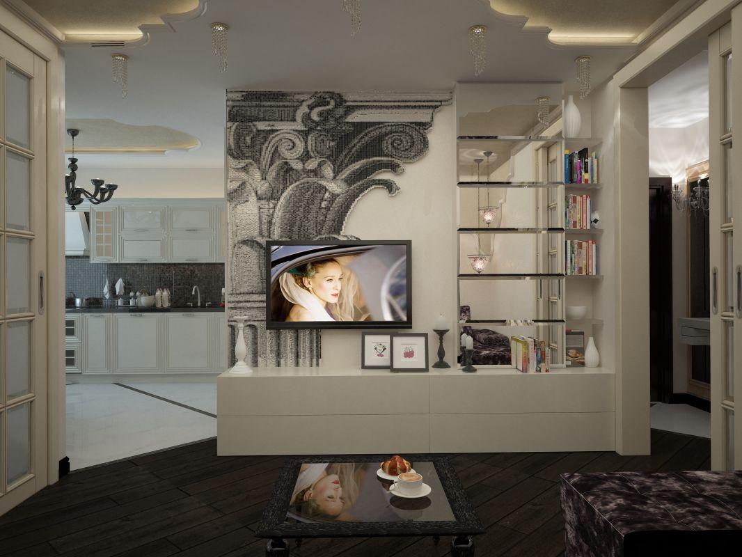 Дизайн проект однокомнатной квартиры Михайлово