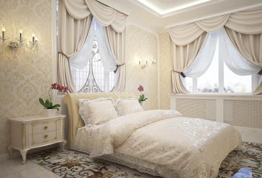 Дизайн проект квартиры в классическом стиле ЖК Новые вешки