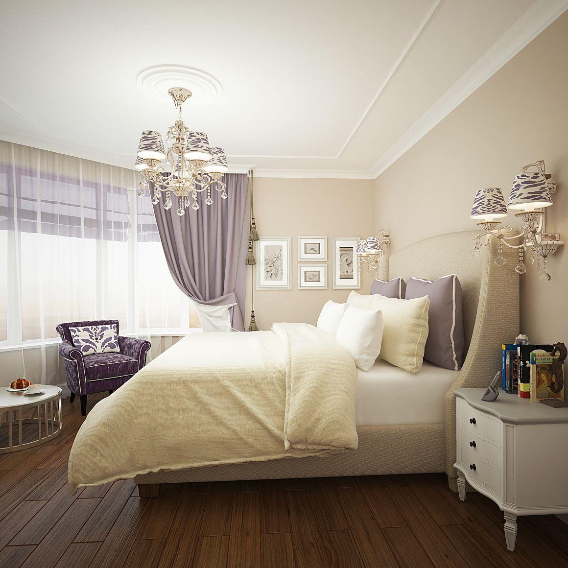 Дизайн проект двухкомнатной квартиры для семьи из 2-х человек