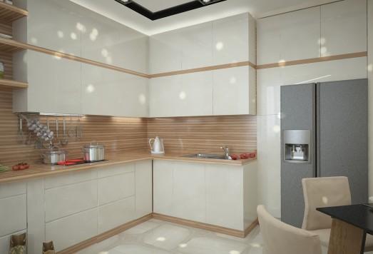 Дизайн проект трехкомнатной квартиры для 4-х человек ЖК Царицыно