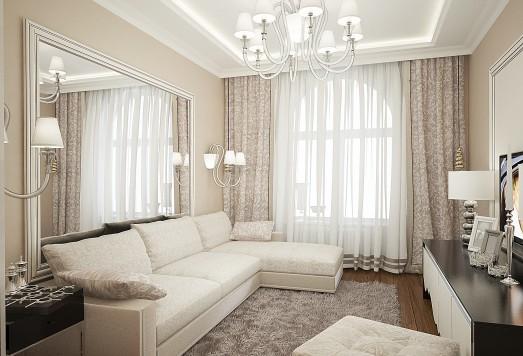 Дизайн квартиры ЖК Ромашково