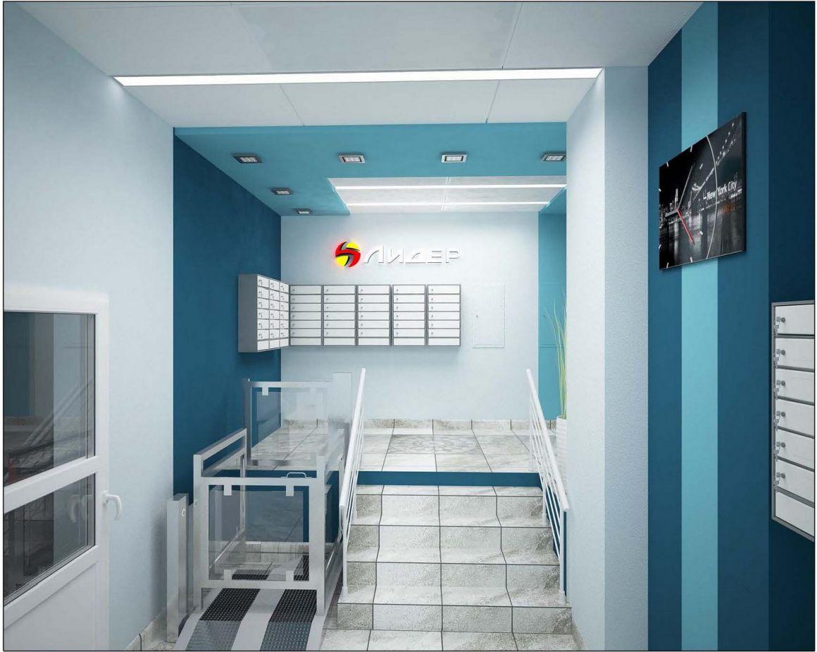 Дизайн проект жк лидер
