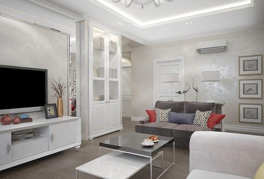 Дизайн проект 3 комнатной квартиры