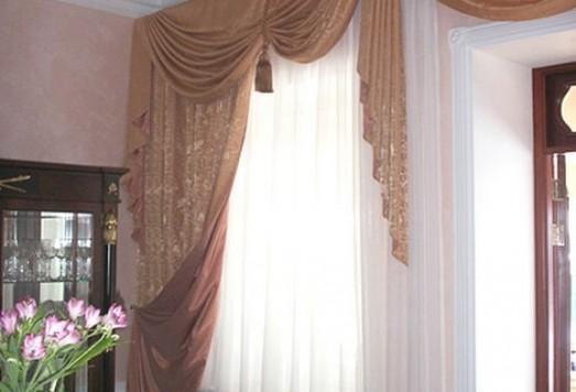 Пошив штор индивидуальный