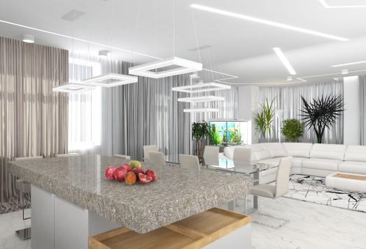 Дизайн проект квартиры в ЖК Эдельвейс