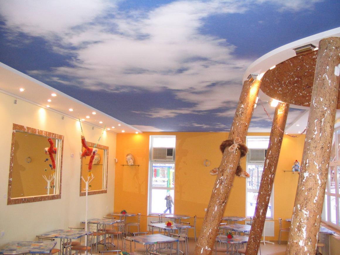 Ремонт детского центра