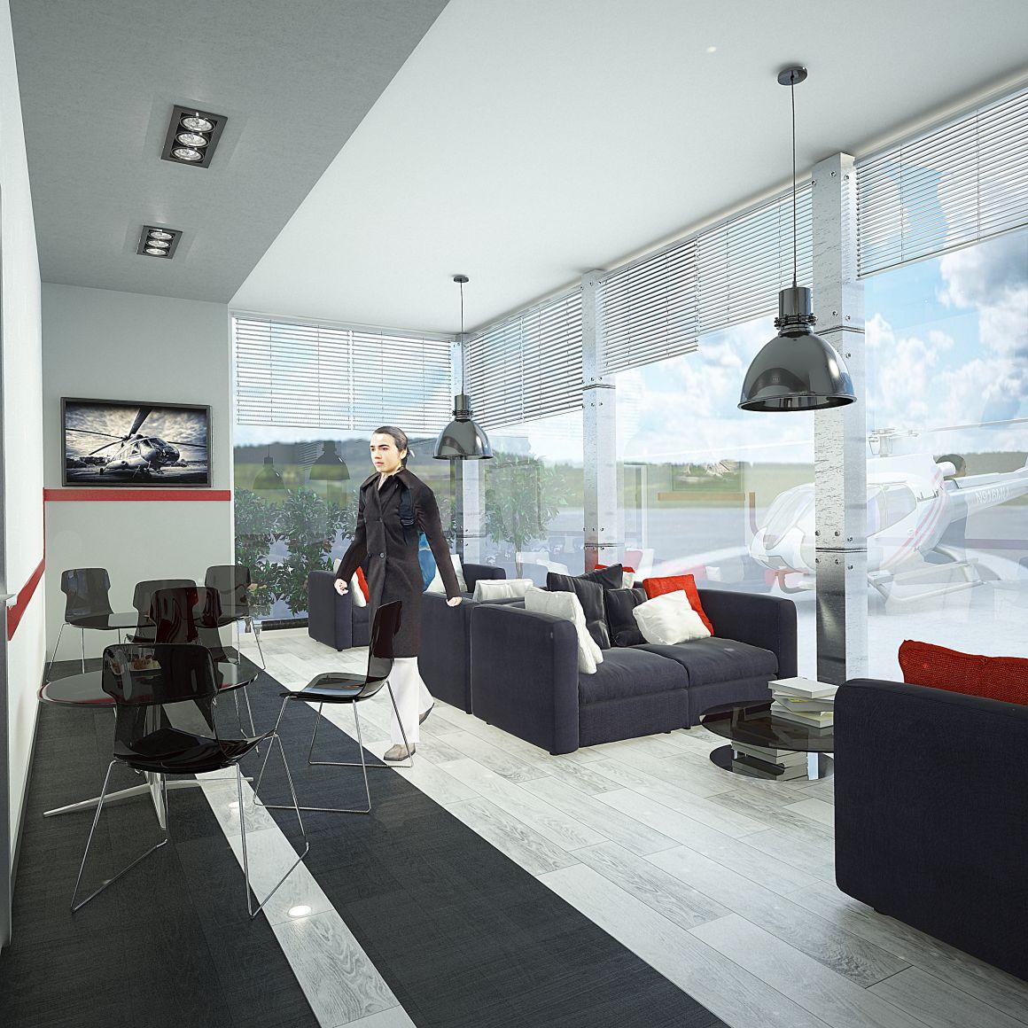 Дизайн проект вертолетного комплекса Heliport