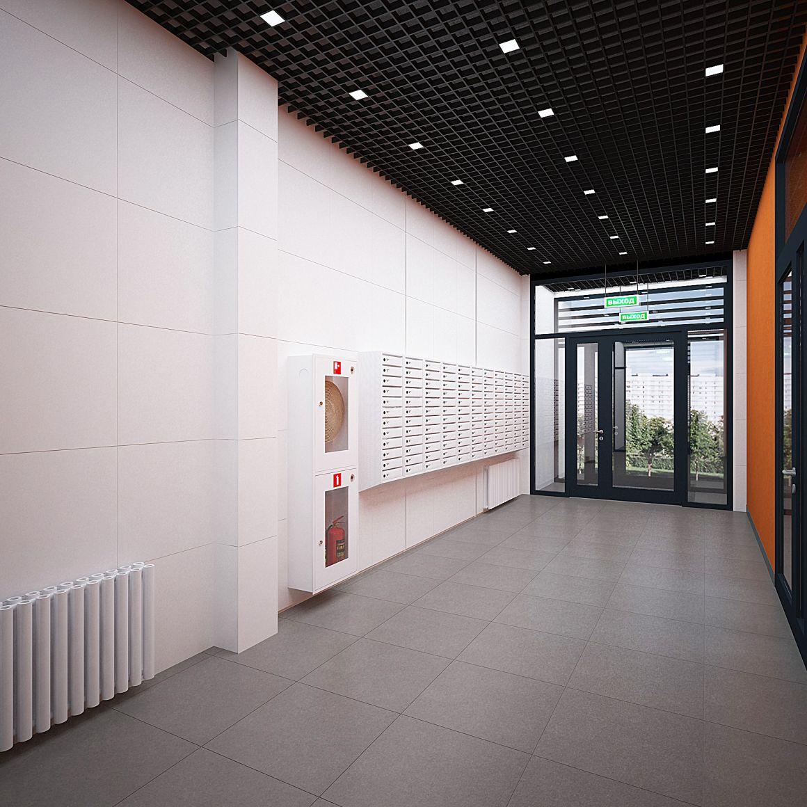 Дизайн проект входные группы ПАО Группа Компаний ПИК