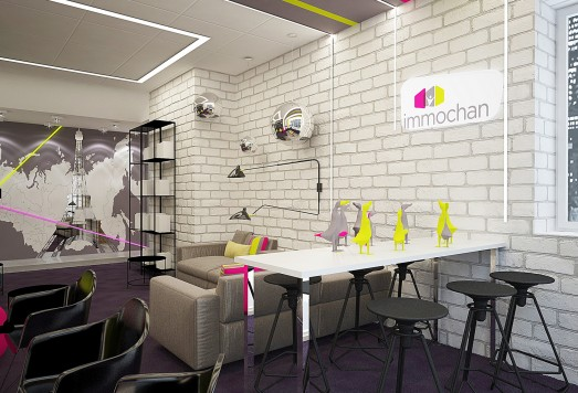 Дизайн проект торгового центра