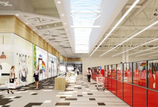 Дизайн проект торгового комплекса москва