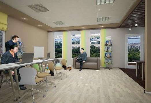 Дизайн проект офиса москва