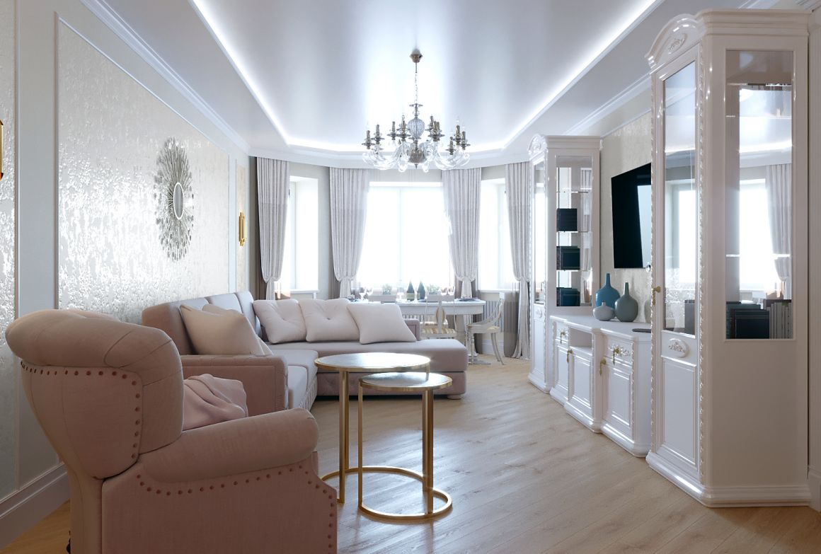 Дизайн проект квартиры в Мытищи