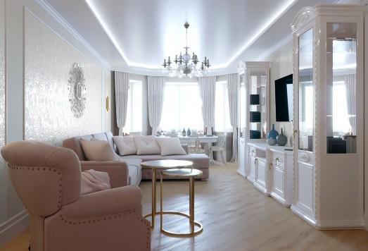 Дизайн проект квартиры в Мытищах