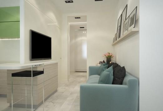 Дизайн проект квартиры в Новой Москве
