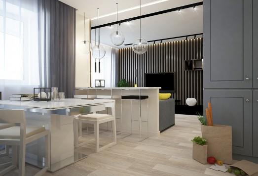 Дизайн проект квартиры город Долгопрудный