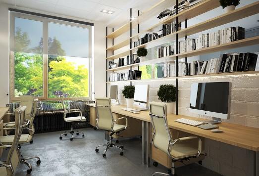 "Дизайн проект офис ""Крост"""